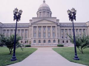 Capitol Building in Frankfort, KY by Jim Schwabel