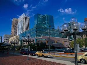 Downtown Baltimore, Inner Harbor by Jim Schwabel