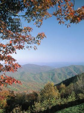 Green Knob Overlook, Blue Ridge Parkway, NC by Jim Schwabel