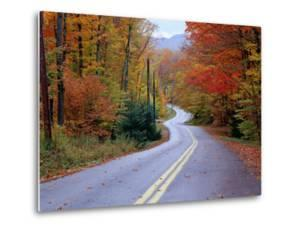 Hollywood Rd at Route 28, Adirondack Mountains, NY by Jim Schwabel