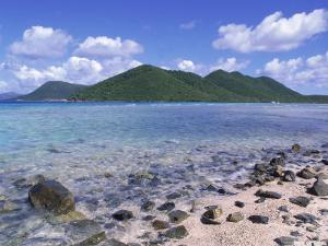 Mary Creek and Point, North Shore, St. John, USVI by Jim Schwabel