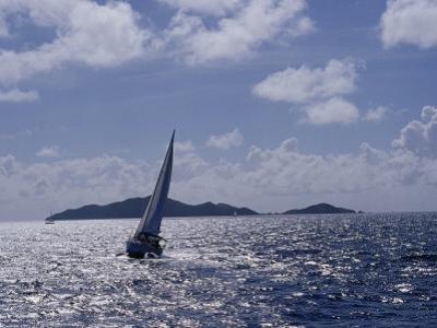 Sailboats, Coral Bay, St. John, Caribbean Sea