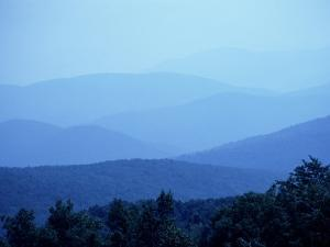 Shenandoah National Park, Man from Skyline Drive by Jim Schwabel
