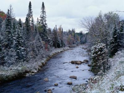 West Branch River, Adirondack Mountains, NY