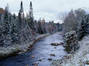 West Branch River, Adirondack Mountains, NY by Jim Schwabel