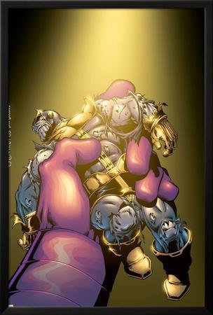 Thanos No.5 Cover: Thanos