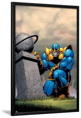 Thanos No.7 Cover: Thanos