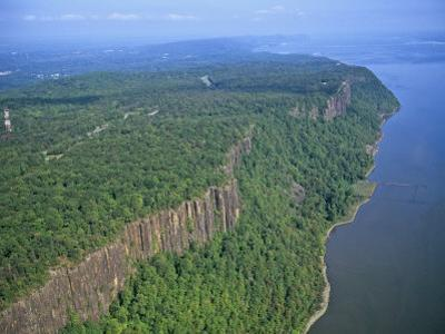 Palisades Along the Hudson River, New Jersey, USA