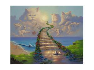 All Cats Go To Heaven by Jim Warren