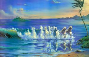 Galloping Waves by Jim Warren