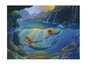 Mother And Child by Jim Warren