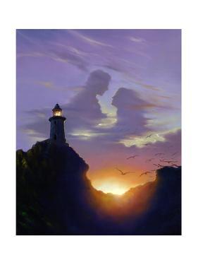 Shining Brightly by Jim Warren