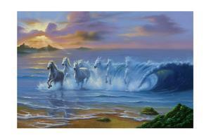 Wild Waves by Jim Warren