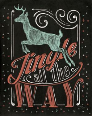 Holiday Chalk I by Jim Wellington