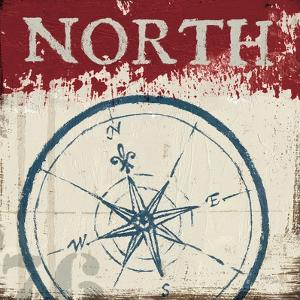 Nautical I Red by Jim Wellington