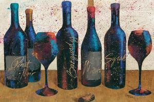 Wine Splash Light I by Jim Wellington