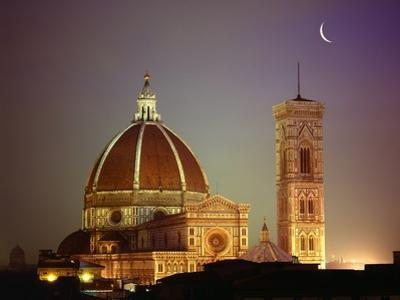 Duomo and Campanile of Santa Maria del Fiore Seen from the West by Jim Zuckerman