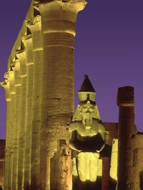 Glow at Luxor Temple by Jim Zuckerman