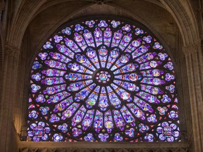 Interior of Notre Dame Cathedral, Paris, France by Jim Zuckerman