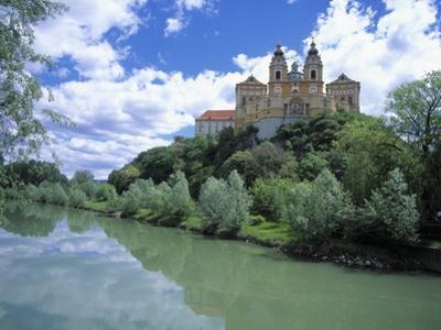 Melk Abbey and Danube by Jim Zuckerman