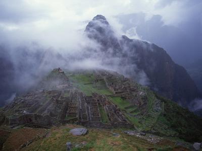 Ruins of Machu Picchu by Jim Zuckerman