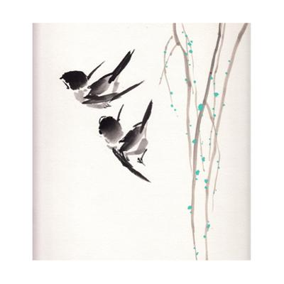 Chinese Painting Bird by jim80