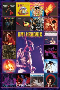 Jimi Hendrix - Album Covers