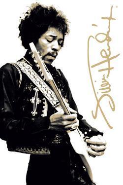 Jimi Hendrix – B&W