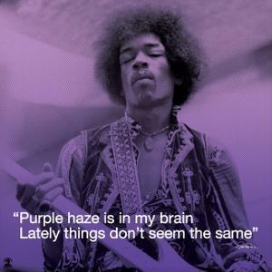 Jimi Hendrix: Purple Haze