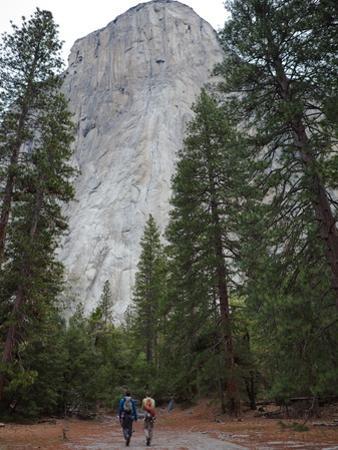 Climbers Prepare to Free Climb El Capitan by Jimmy Chin