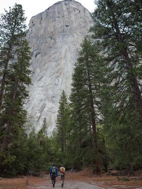 Climbers Prepare to Free Climb El Capitan by Jimmy Chin