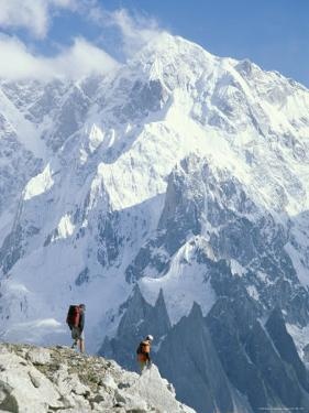 Two Hikers in Charakusa Valley, Karakoram, Pakistan by Jimmy Chin