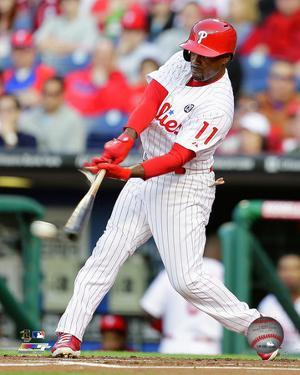 Jimmy Rollins 2014 Action
