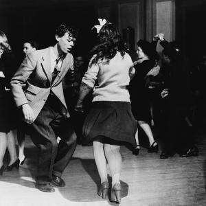 Jitterbugs at an Elk's Club Dance, in Washington, D.C. April 1943