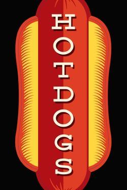 Hotdogs in Black by JJ Brando