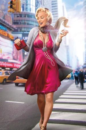 Marilyn In the City by JJ Brando