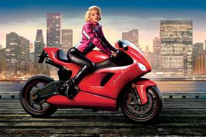 Marilyn's Red Ride - Norma Jean by JJ Brando