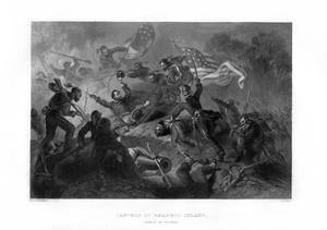 Charge of the Zouaves, Capture of Roanoke Island, North Carolina, 1862-1867 by JJ Crew