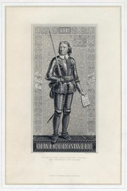Oliver Cromwell, 19th Century by JJ Crew