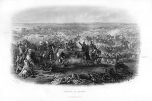 The Battle of Aliwal, 19th Century by JJ Crew