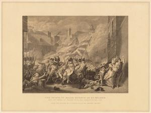'The Death of Major Peirson at St. Heliers', 1781 (1878) by JJ Crew