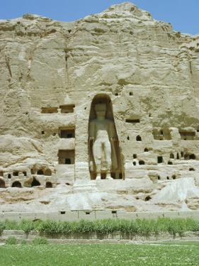 Small Buddha Statue in Cliff (Since Destroyed by the Taliban), Bamiyan, Afghanistan by Jj Travel Photography