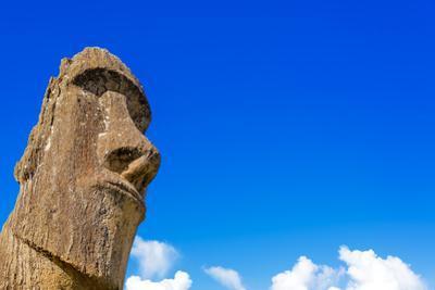 Moai and Blue Sky by jkraft5