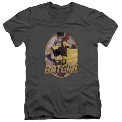 JLA- Batgirl Bombshell V-Neck