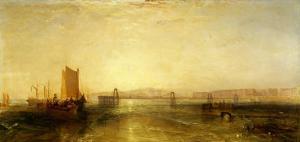 Brighton from the Sea, circa 1829 by JMW Turner