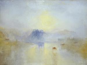 Norham Castle, Sunrise by JMW Turner