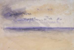 Off the Coast: Seascape and Clouds, 19th Century by JMW Turner