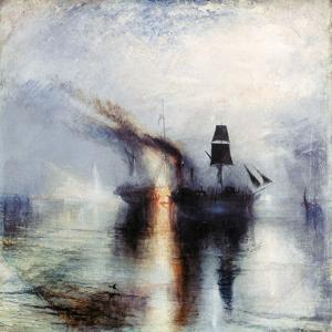 Peace, Burial at Sea, C1842 by JMW Turner