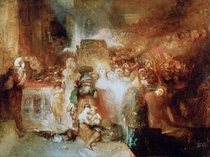 Pilate Washing His Hands, 1830 by JMW Turner