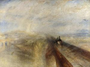 Rain, Steam, and Speed, the Great Western Railway, 1844 by JMW Turner